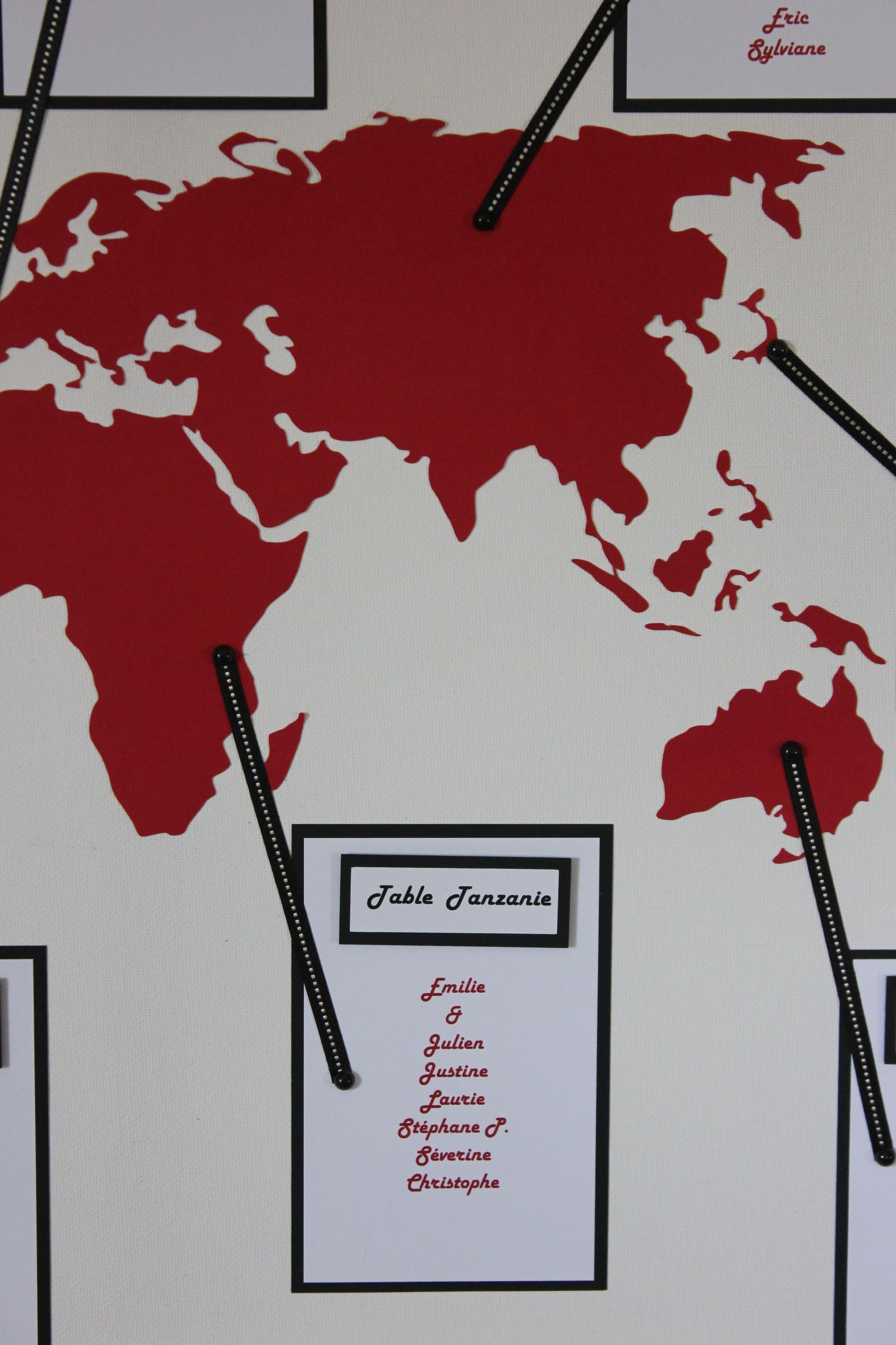 D coration mariage annecy atelier graines d 39 id es - Decoration voyage autour du monde ...